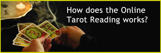 How does the Online Tarot Reading works?
