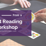 Benefits from a Tarot Workshop